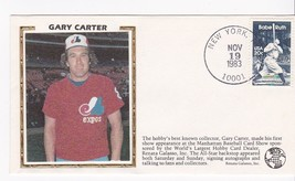 Gary Carter Baseball Card Show Appearance Event Cover - $1.78