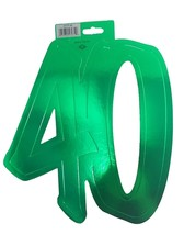 Beistle #40 Foil Silhouette (Green color) Party Accessory (1 count) - ₨137.75 INR