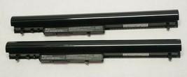 (Lot Of 2) Oem Hp OA04 Laptop Battery 14.8V 41Wh 2620 M Ah HSTNN-LB5S - $29.99