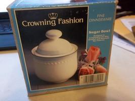 "Johann Haviland Mountain Sky 3-1/4"" Sugar Bowl & Lid Crowning Fashion Blue - $33.73"