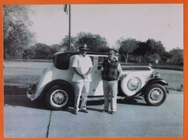 BEAUTIFUL VINTAGE CAR ROLLS ROYCE,  PHOTOGRAPH,PRINT,INDIA,COLLECTIBLE - $44.99