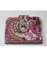 Vera Bradley wallet clutch id coin womens ladies pink burgandy green pre... - $23.75