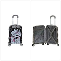"""20"""" Spinner Carry On Suitcase ABS Hardcase Wheeled Luggage Travel Puppie... - $91.24"""