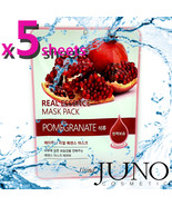 JUNO 5 x Pomegranate Mask Sheet made in Korea - $5.82