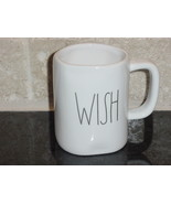 Rae Dunn WISH Mug, Ivory with Black Lettering - $12.00