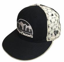 New Era Denver Nuggets Hat 5950 HWC Classic Nuggets Logo Size 7 1/4 Made... - $14.80