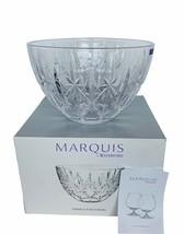 """Waterford Crystal Markham Marquis Germany Sparkle 9 inch 9"""" Bowl NIB gla... - $148.50"""