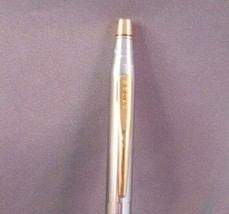Cross Chrome and Gold  Ball Pen-Medalist - $31.50
