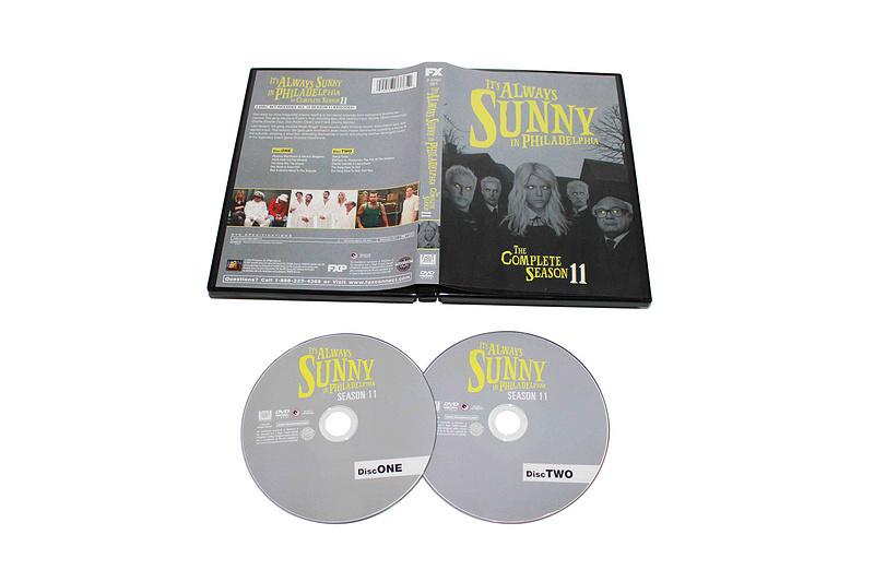 It's Always Sunny in Philadelphia Season 11 DVD Box Set 2 Disc Free Shipping