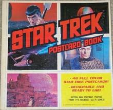 Star Trek Classic TV Series Large Trade Postcard Book 1977 NEW COMPLETE - $24.18