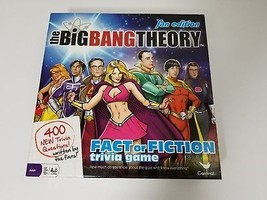 Big Bang Theory Fact or Fiction Trivia Game Fan Edition Cardinal Complete - $9.74
