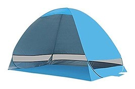 Pop Up UV Beach TentPortableFun Instant TentSun Shelter - $50.07