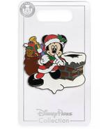 Disney Holiday Christmas 2020 Santa Mickey Pin New OE Pin In Hand - $14.84