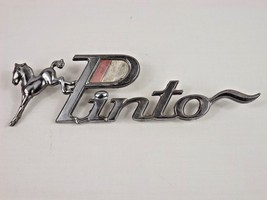 FORD PINTO CAR EMBLEM ORNAMENT SIDE EMBLEM METAL HORSE - $19.99