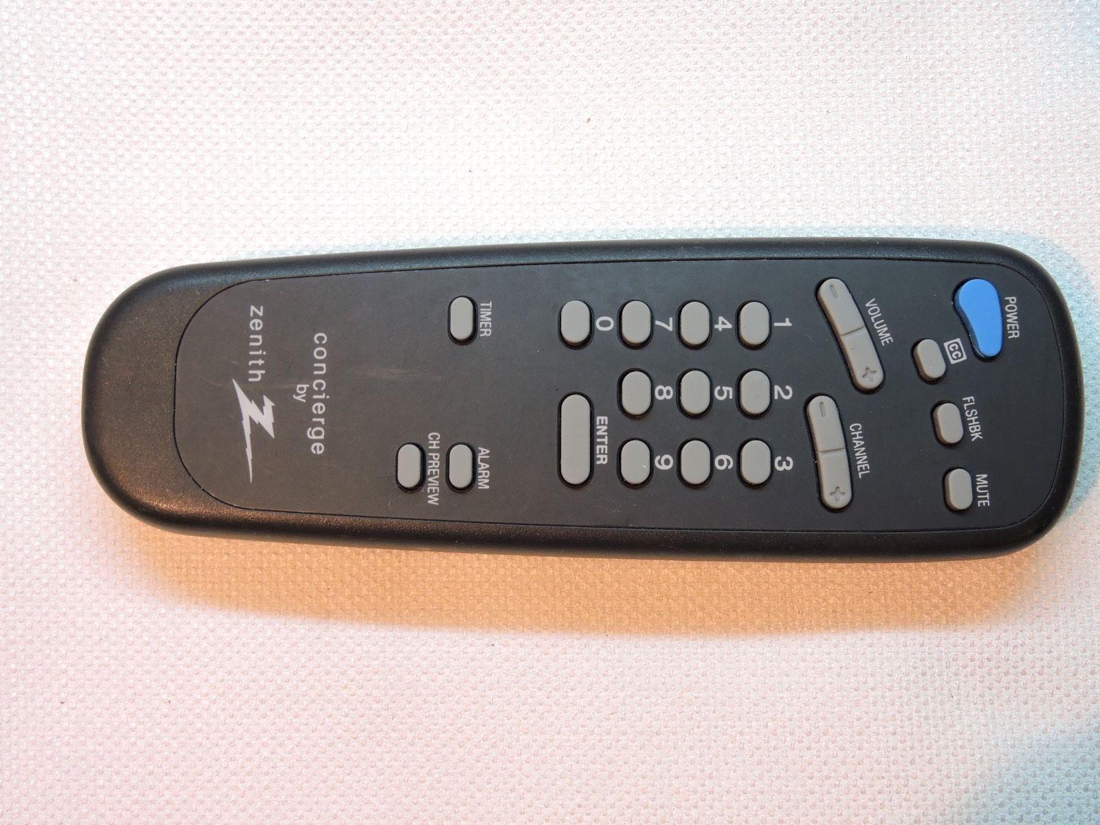 zenith sc652 concierge tv remote h19f34dt and 50 similar items rh bonanza com
