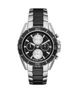 Michael Kors Men's Chronograph JetMaster Carbon Fiber Steel Watch 43mm MK8454 - $117.99