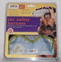 DOG CAR SAFETY HARNESS for pets 18 - 44 lbs PLUSH CUSHIONED - $10.37