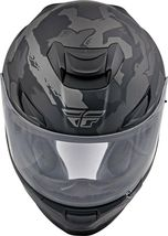 XS Fly Racing Sentinel Ambush Motorcycle Helmet Camo/Grey/Black DOT & ECE  image 4