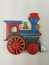 Hallmark Christmas MAGNET Keepsake Ornament Inspired Train Engine Blue R... - $9.65