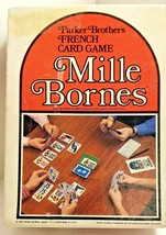 Vintage MILLE BORNES 1971 Parker Brothers No.13 French Card Game  COMPLETE  - $12.38