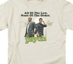 All of the Law None of the Order t-shirt TV series Psych graphic tee NBC689 image 2