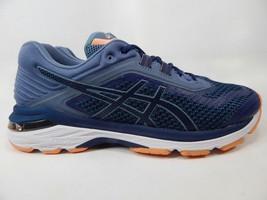Asics GT 2000 v 6 Size 10 M (B) EU 42 Women's Running Shoes Blue Pink T855N