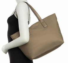 Marc Jacobs Bag Wingman Nylon Tote Stone Grey NEW - $123.75
