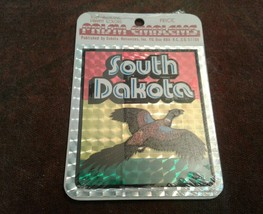 South Dakota Emblem State Made In USA NIP sticker label Emblems - $5.94
