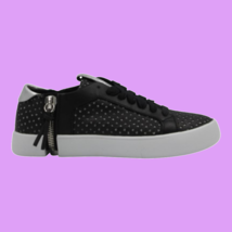 DIESEL S-Nentish LC W Womens Causal Athletic Sneaker Black Silver Size 6 - $106.91