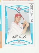 2008 Bowman Prospects Blue #BP87 Matt Rizzotti /500 192334 - $1.86