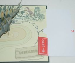 Lovepop LP2670 Happy Birthday Stegosaurus Pop Up Card White Envelope image 4