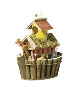 Noah's Ark Brown Wood Birdhouse - $19.96