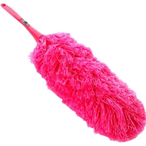 PANDA SUPERSTORE Colorful Detachable Car Duster Brush Cleaning Brush(Rose Red)