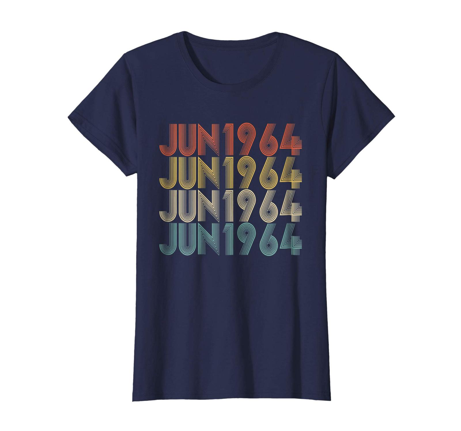 Uncle Shirts -   Legends Born In JUNE 1964 Vintage Awesome 54 Years Old Wowen