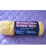 Columbia Minerva 1 skeins 1/2  oz yarn pumpkin seed color (1 available) - $0.98