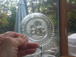 Pairpoint Glass Cup Plate New Bedford Glass Museum Christmas 1984 Ninth ... - $10.29