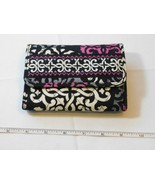 Vera Bradley wallet clutch id coin womens ladies CanterBerry Magenta pre... - $44.54