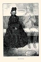 The Evening by Charles Dana Gibson - Art Print - $19.99+
