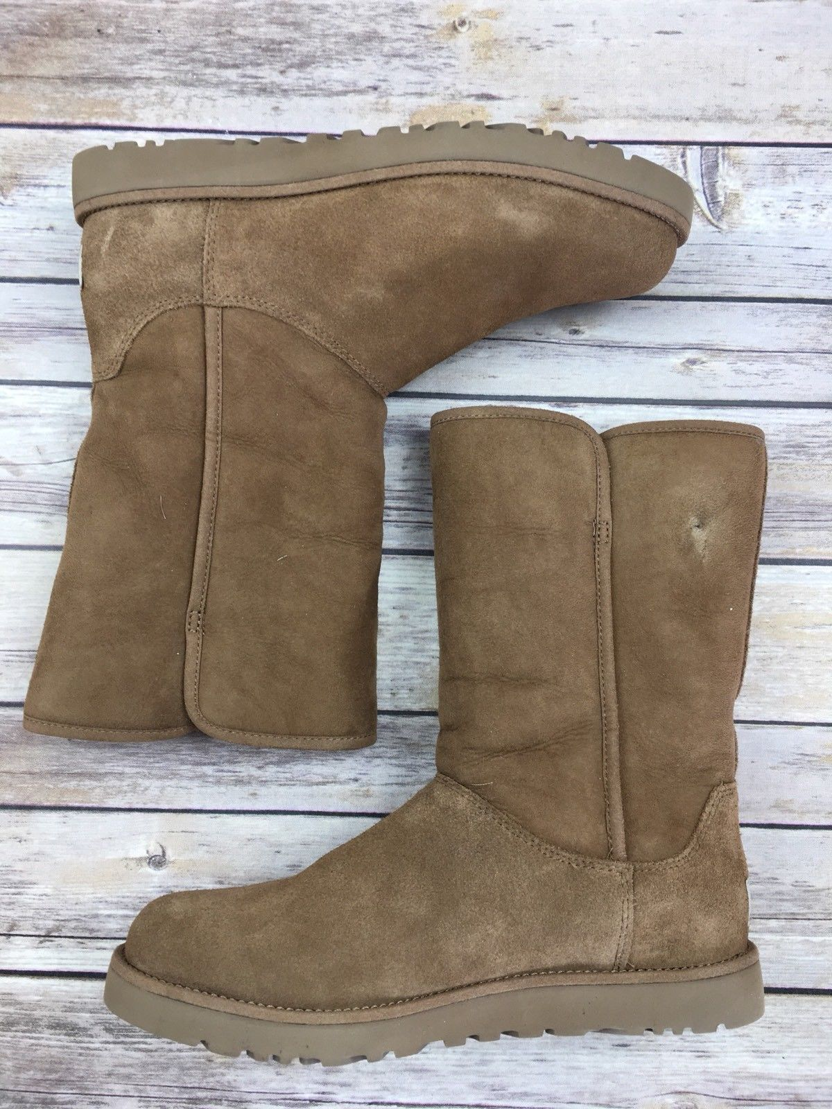 5b1c4253f9f UGG AUSTRALIA Boots Uggs Michelle Slim Suede and 50 similar items