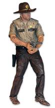 SALE!! NEW!! McFarlane Walking Dead Series 7 RICK GRIMES, Slightly Damag... - $11.38