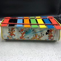 Tudor Walt Disney Xylophone 1965 Vintage Mickey Mouse Band Toy Instrument Goofy - $64.35