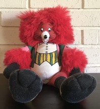 1986 Hallmark Zoobilee Zoo Red Bravo Fox Plush Toy - $33.85