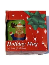 Holiday Mug Coffee Tea New in Box Ideal for Gift  Free shipping - $12.60