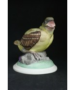 """BOEHM Porcelain Baby GoldFinch Bird Figurine, 4"""" h. 1959, Mint - $26.95"""