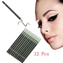 12pcs Waterproof Eyeliner Pencil Long Lasting Eye Pencil Cosmetics Eyeli... - $20.86