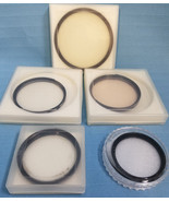 Lot of 5 Assorted Protection Filter Camera Accessories Lens Photography  - $24.95