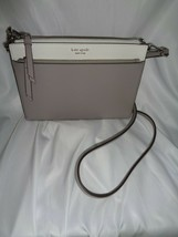 KATE SPADE CAMERON ZIP CROSSBODY HANDBAG CLUTCH BRIGHT WHITE SOFT PORCELAIN - $94.55