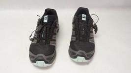 Salomon XA Comp 8 Women's Trail Running Shoes Sz6 - Black/Teal 402149 - $44.99