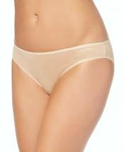 Calvin Klein Cotton Form Bikini Underwear Panties QD3644-277 Bare Nude Beige NWT