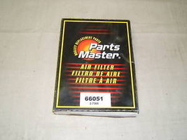 Parts Master Air Filter 66051 - $3.08